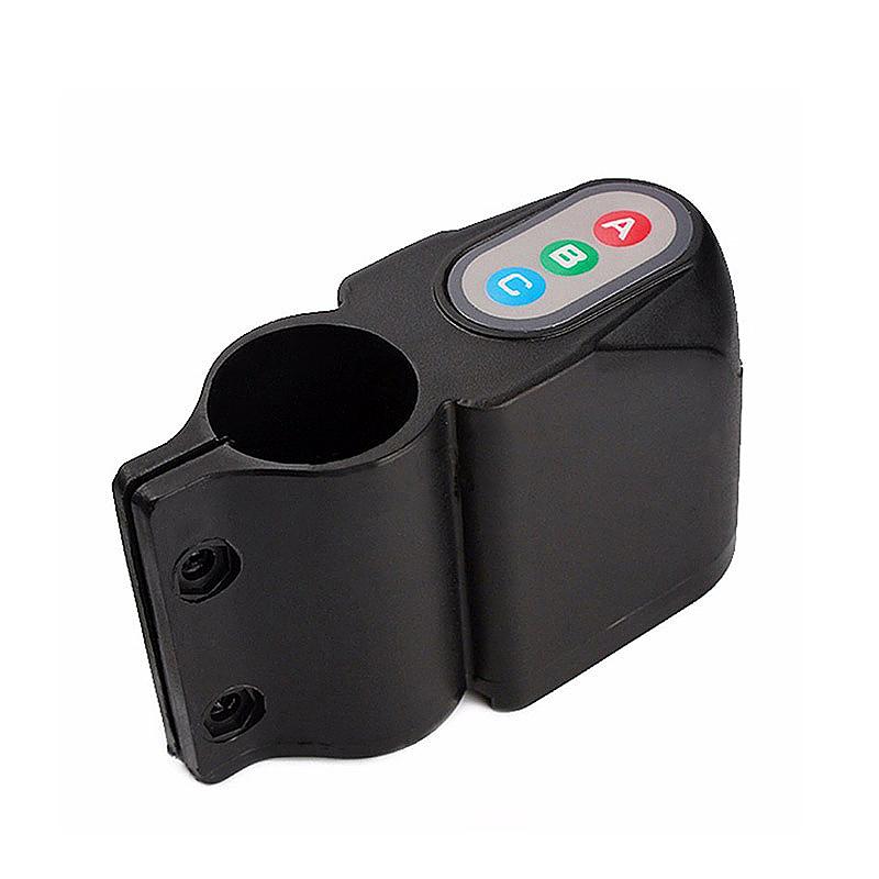 Bicycle Bike Motion Sensor Anti Theft Security Alarm Warning Annunciator Lock - Black