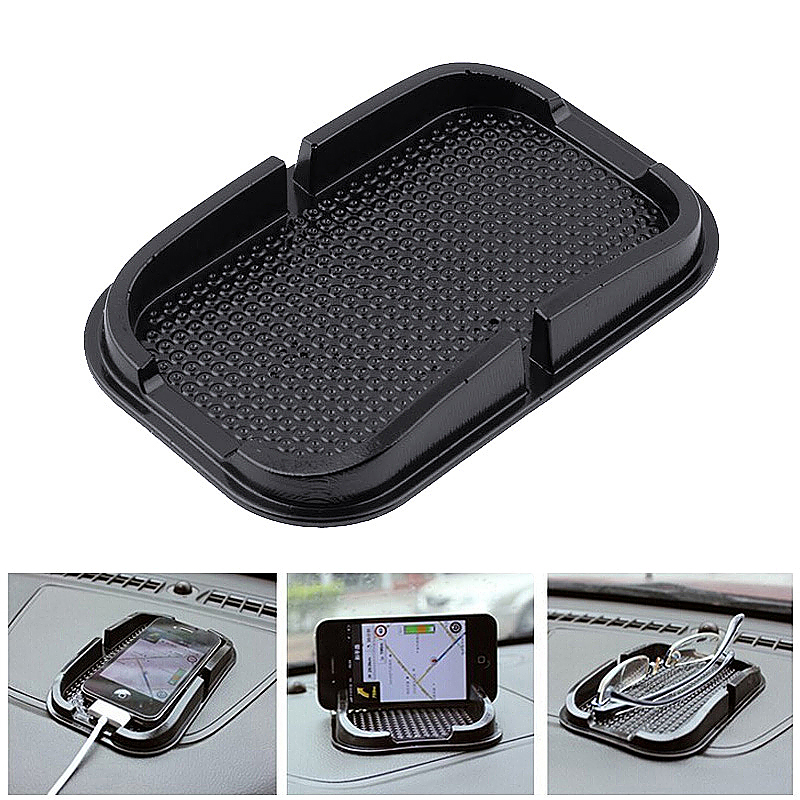 Car Dashboard Mobile Phone Holder Non Slip Mat Anti Skid Grip Mount for Smartphones