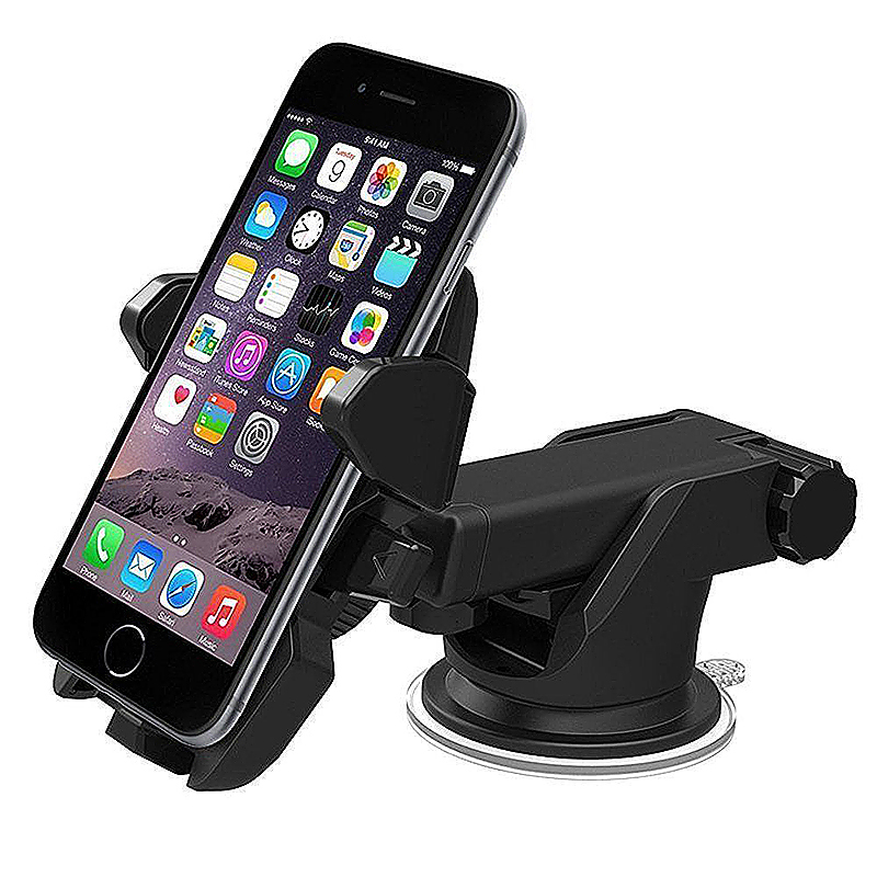 360 Degree Car Windscreen Dashboard Sucker Holder Mount For GPS PDA Mobile Phone - Black