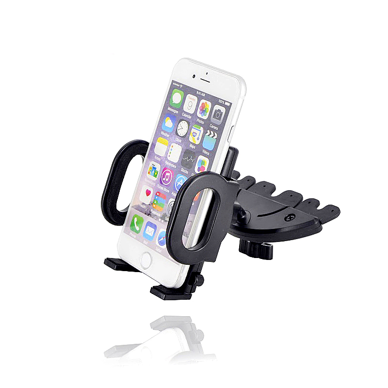 Car CD Slot Mobile Phone Holder Stand Cradle Mount for GPS iPhone Smartphones