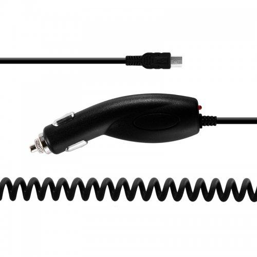 5pin Mini USB 5V 1A Banana Pattern Car Charger Adaptor Power for MOTO V3 - Black