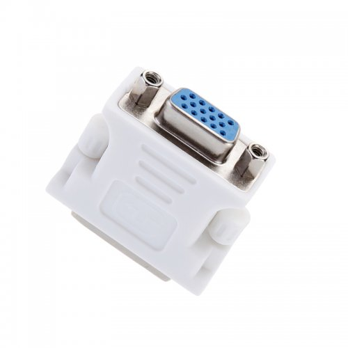 24+1 DVI-D Male to VGA Female HDTV Projector Adapter
