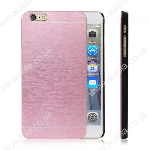 Motomo Metal Premium Luxury Brushed Aluminum Case for 4.7 Inch iPhone 6- Pink