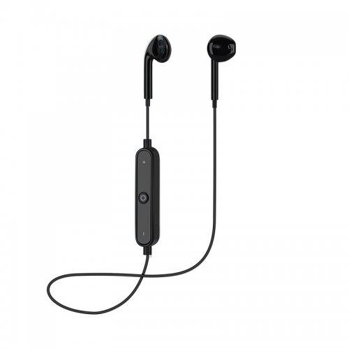 Sports Headphones Bluetooth 4.1 Earbuds with Mic Sport Stereo Headset Earphones - Black