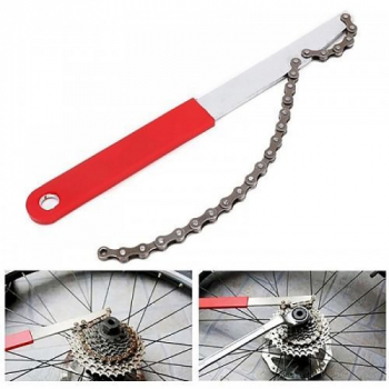 Deluxe Freewheel Bike Chain Whip Cycle Bicycle Cassette Cog Remover Tool
