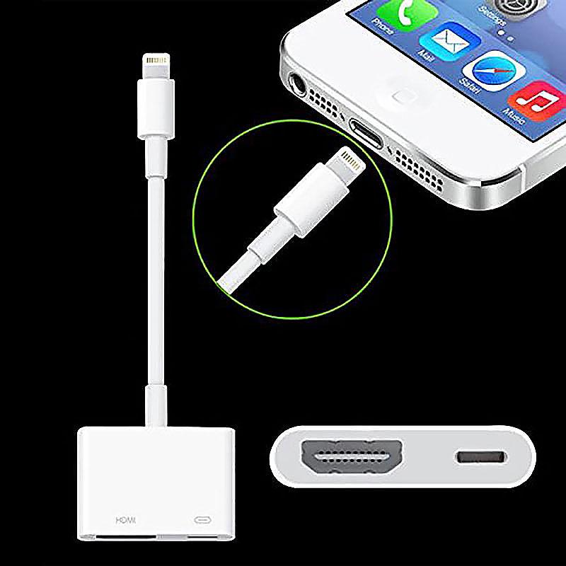 Digital AV Adapter Lightning to HDMI /AV /HDTV Adapter for iPad Pro /Air / Mini