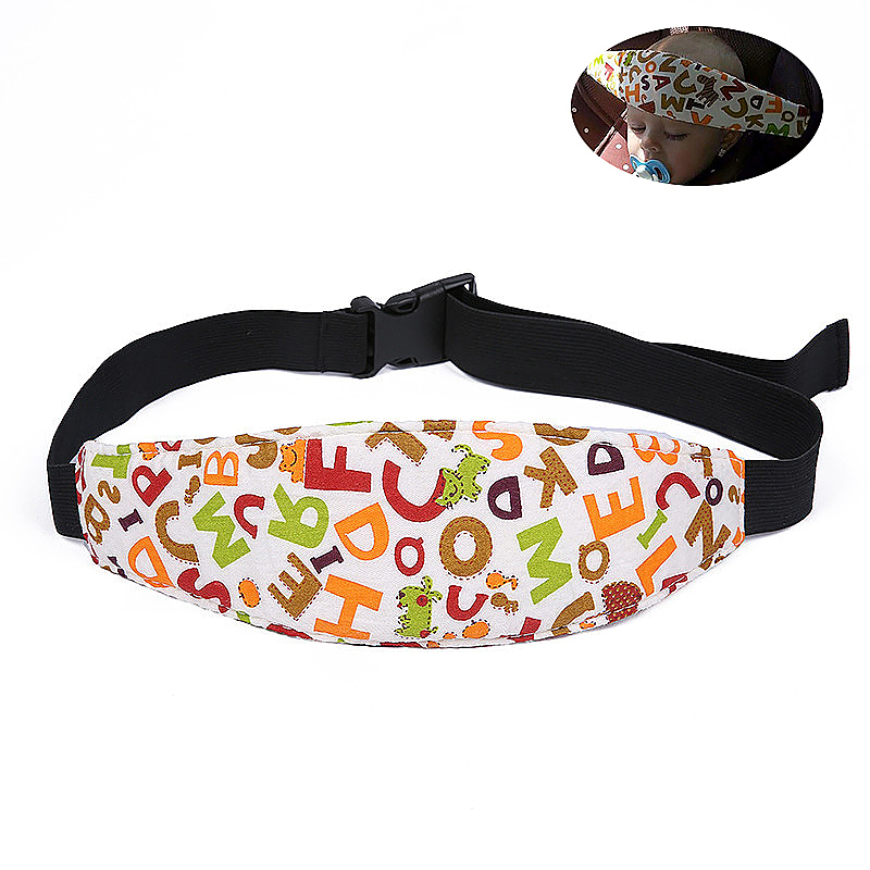 Car Seat Sleeping Head Support Baby Kids Relief Head Belt Neck - ABC