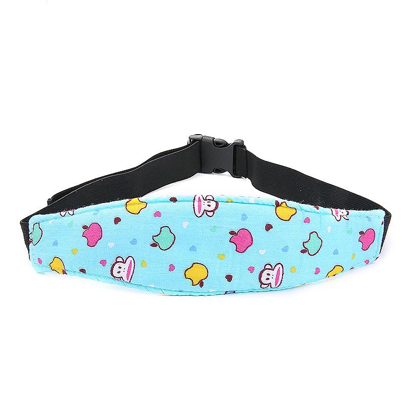 Car Seat Sleeping Head Support Baby Kids Relief Head Belt Neck - Monkey