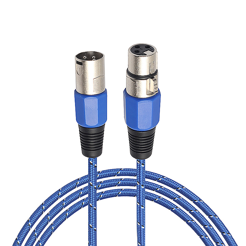 3M Microphone Audio Connector Cable 3pin XLR Male to Female Mic Extension Audio Cable Cord for Microphone Mixer