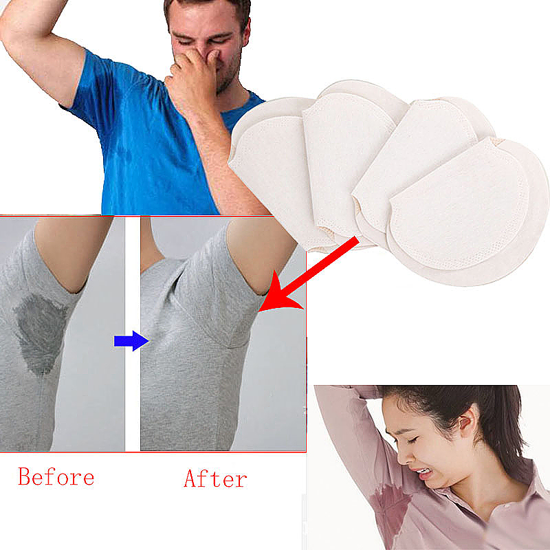 1Pair Disposable Sweat Absorption Pad Antiperspirant Underarm