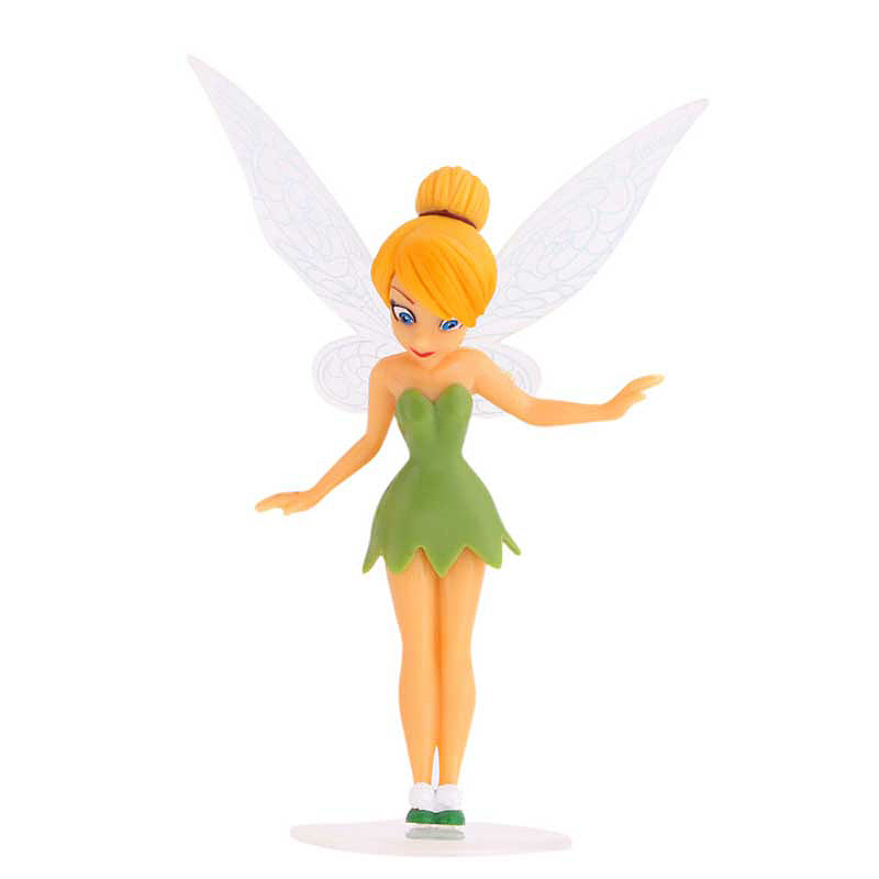 6pcs Flower Pixie Fairy Miniature Figurine Fly Wing Dollhouse Toys