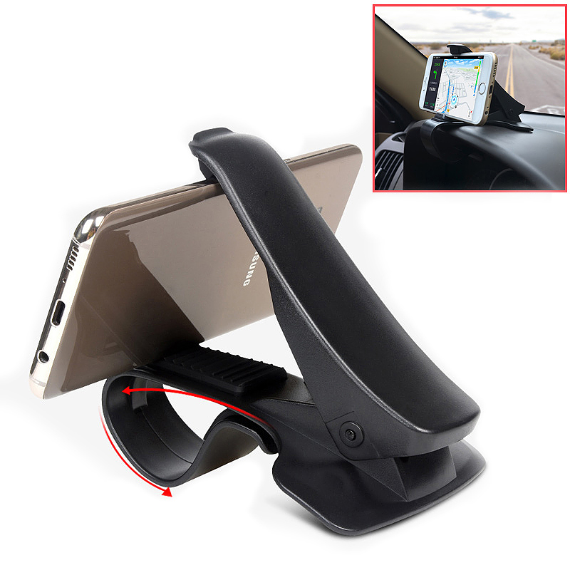 Car Dashboard NonSlip 360 Degree Rotation Mobile Phone Mount Holder for GPS PDA