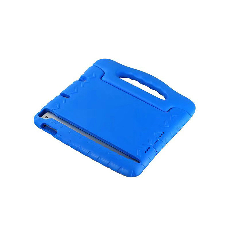 Shockproof Handled EVA Foam Stand Case for Apple Tablets iPad Mini 4 - Blue