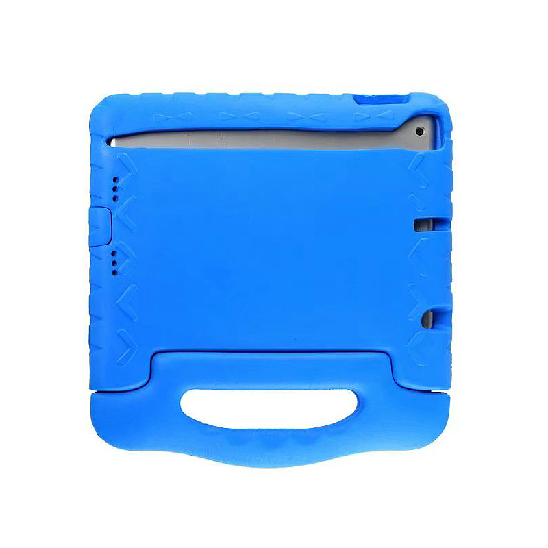 Tough Kids Shockproof iPad Protective Case EVA Foam Handled Case Cover for iPad Air Air 2 - Blue