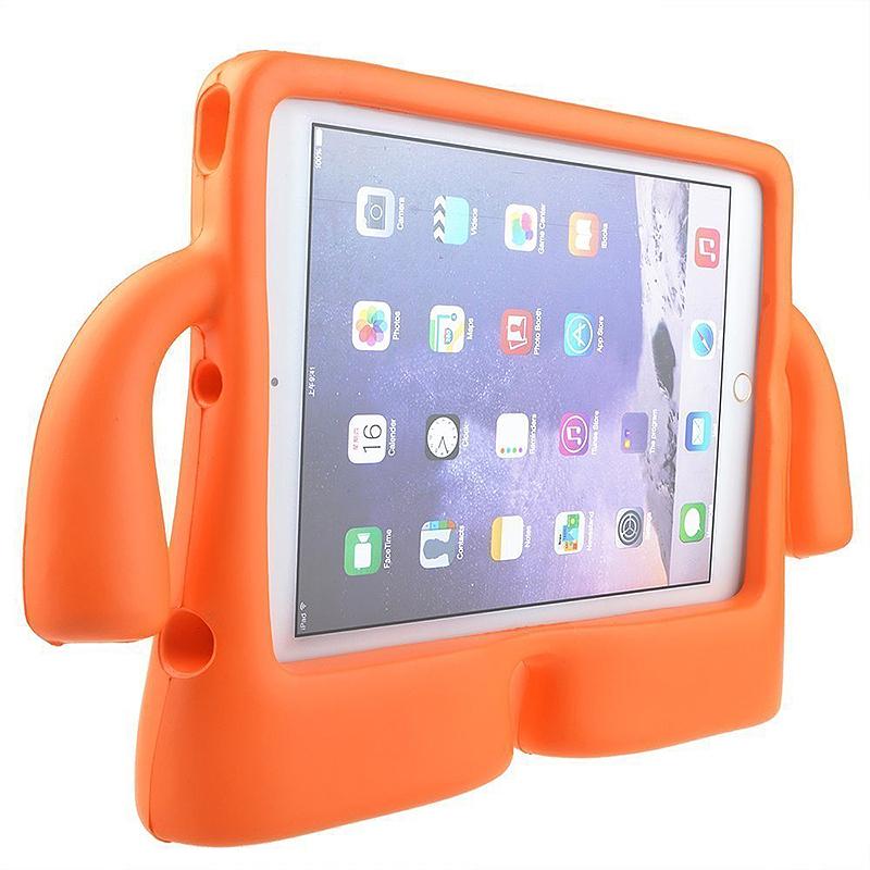 Kids Toddler Universal Shockproof EVA Foam Stand Tablet Case for iPad Mini 1/2/3/4 - Orange
