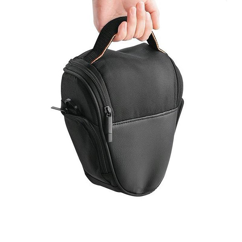Triangle Digital DSLR SLR Camera Lens Shoulder Case Bag For Nikon Canon