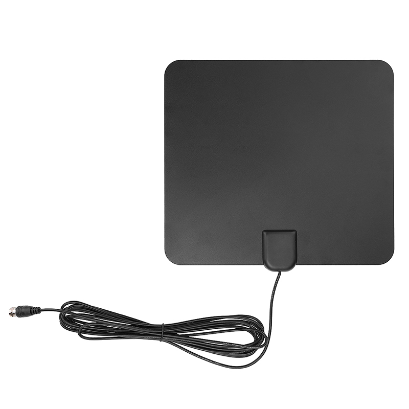 Amplified Indoor HDTV TV Antenna 50 Miles Long Range with Detachable Amplifier
