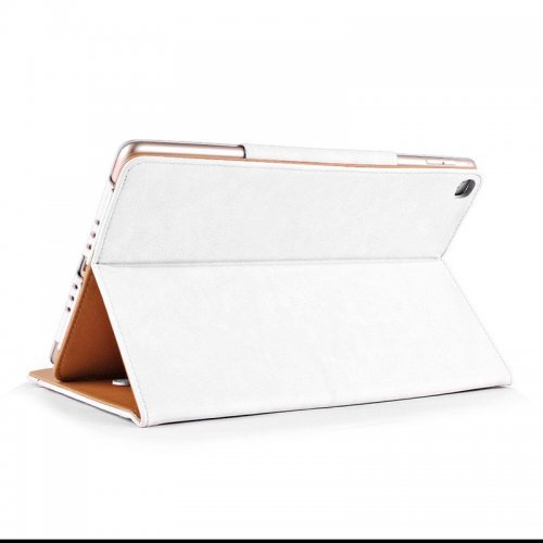 Smart PU Leather Slim Flip Stand Case Cover Magnetic iPad NEW 2017 Case - White
