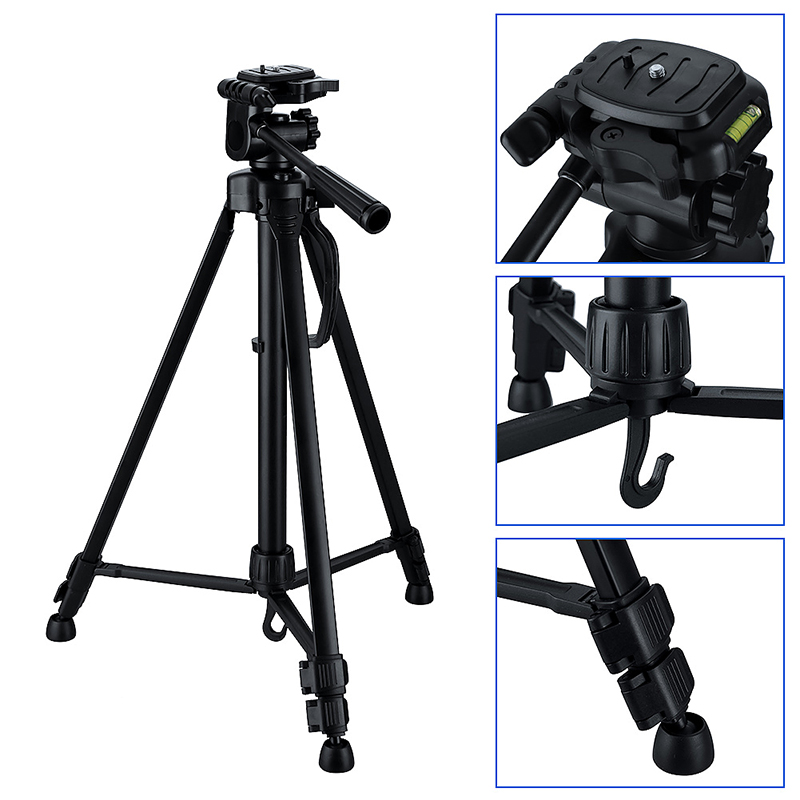 Professional Camera Tripod Stand Mount Holder for Digital Canon Nikon Sony Camera