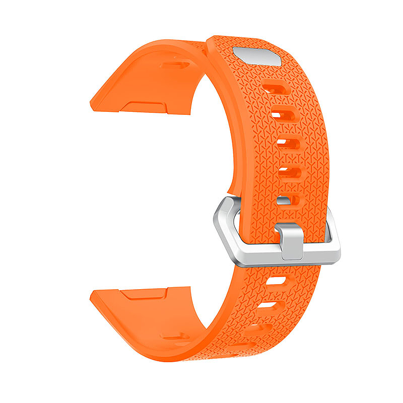 Fitbit 2 Replacement Silicone Wristband Sport Strap Watch Band Bracelet - Orange