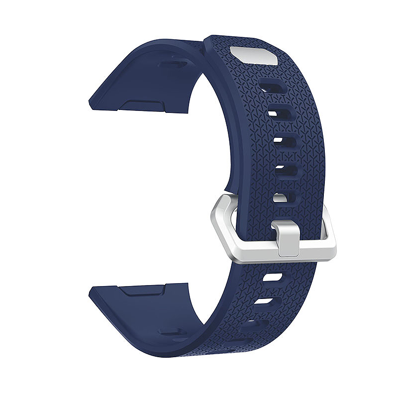 Fitbit 2 Replacement Silicone Wristband Sport Strap Watch Band Bracelet - Blue