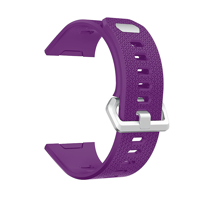 Fitbit 2 Replacement Silicone Wristband Sport Strap Watch Band Bracelet - Purple