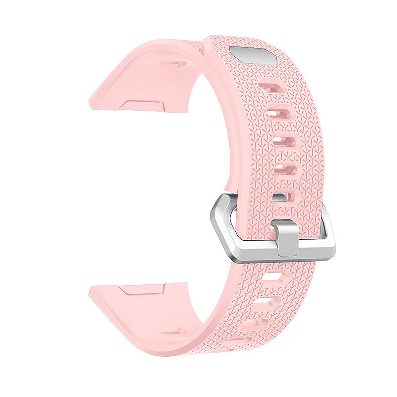 Fitbit 2 Replacement Silicone Wristband Sport Strap Watch Band Bracelet - Pink