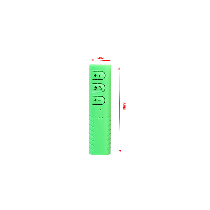 Wireless Bluetooth 4.1 Ricevitore 3.5mm Audio Music Bluetooth Stereo Altoparlante Receiver - Green