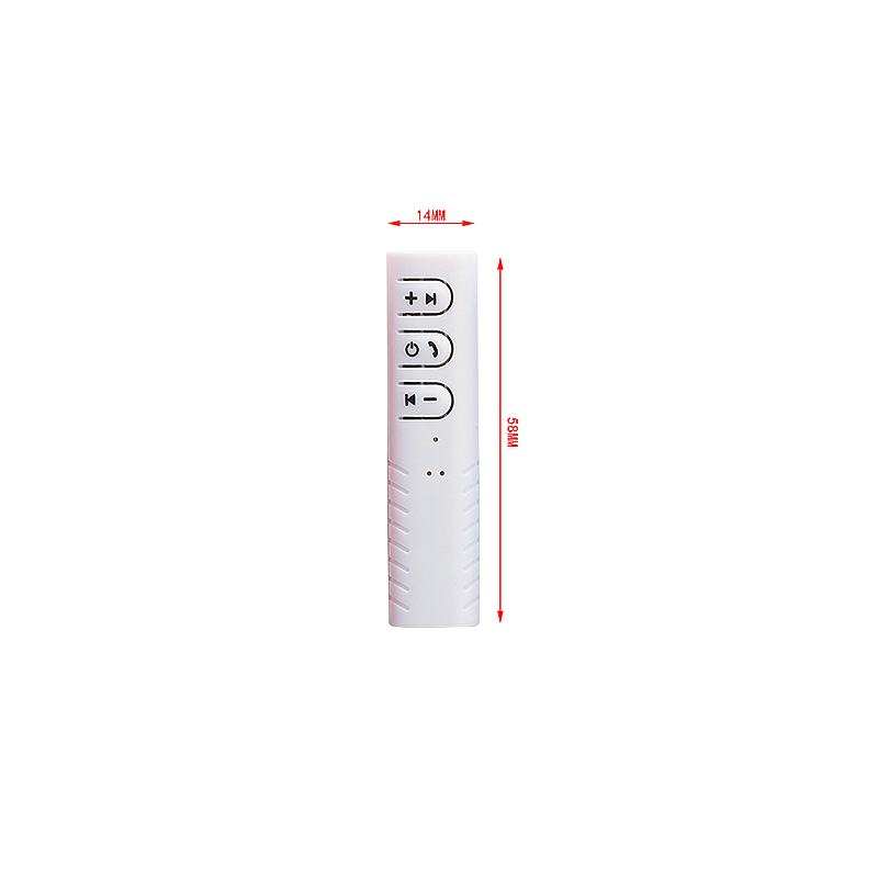 Wireless Bluetooth 4.1 Ricevitore 3.5mm Audio Music Bluetooth Stereo Altoparlante Receiver - White