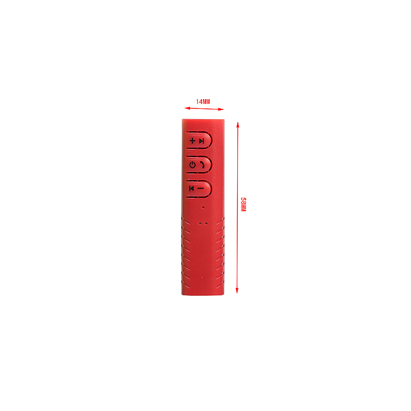 Wireless Bluetooth 4.1 Ricevitore 3.5mm Audio Music Bluetooth Stereo Altoparlante Receiver - Red