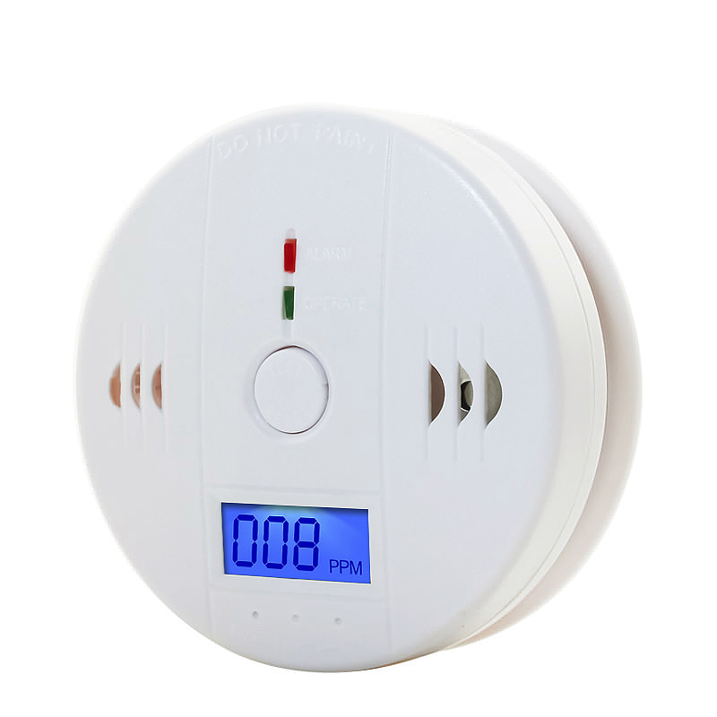 LCD CO Carbon Monoxide Detector Poisoning Gas Detection Warning Alarm Sensor Monitor