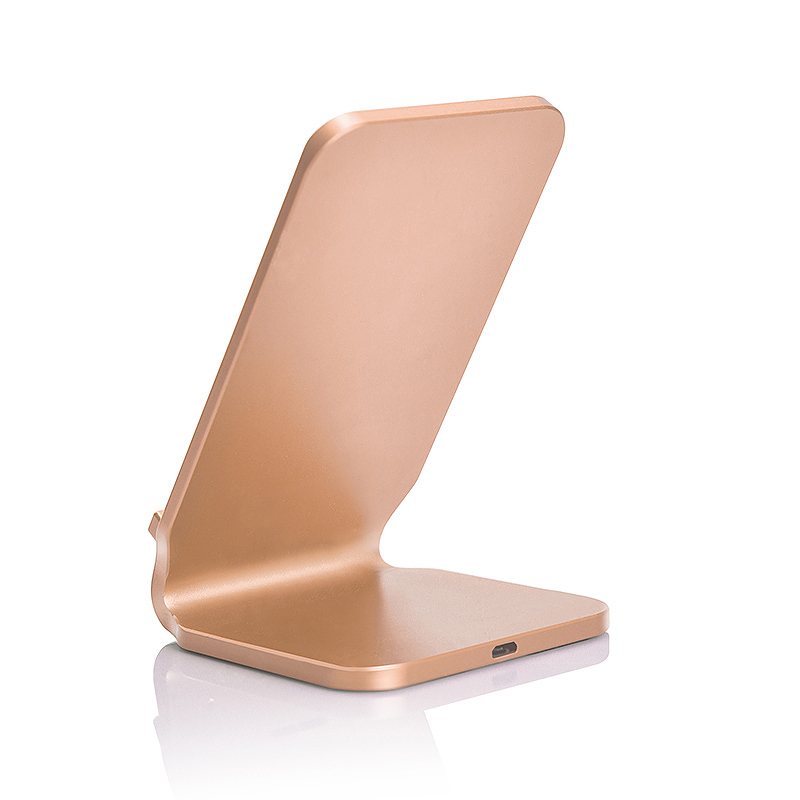 N11 Wireless Stand Fast Charger Portable Fantasy Charging Pad Mat for Samsung S8 iPhone 8/X - Gold