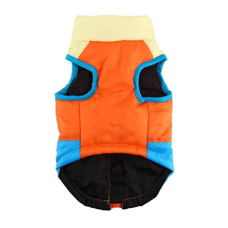 Comfy Soft Pet Dog Cat Puppy Vent Coat Winter Warm Jacket - Size S