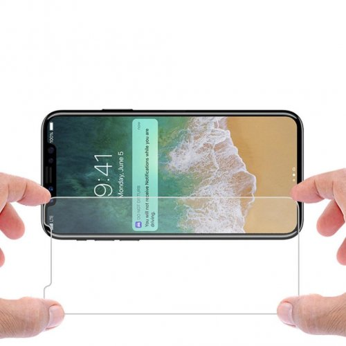 iPhone X/XS Tempered Glass Clear Screen Protector 9H Film Guard for Apple iPhone X/XS