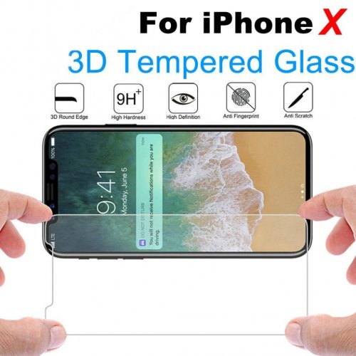 iPhone X/XS/11 Pro Tempered Glass Clear Screen Protector 9H Film Guard Protector