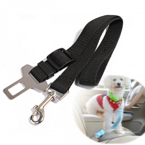 Dog Safety Seat Belt For Car Van Lock Adjustable Pet Lead
