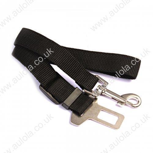 Dog Safety Seat Belt For Car Van Lock Adjustable Pet Lead
