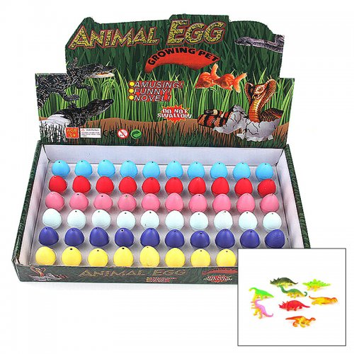 Magic Dinosaur Egg Growing Hatching Child Kid Toy - Dull Polish