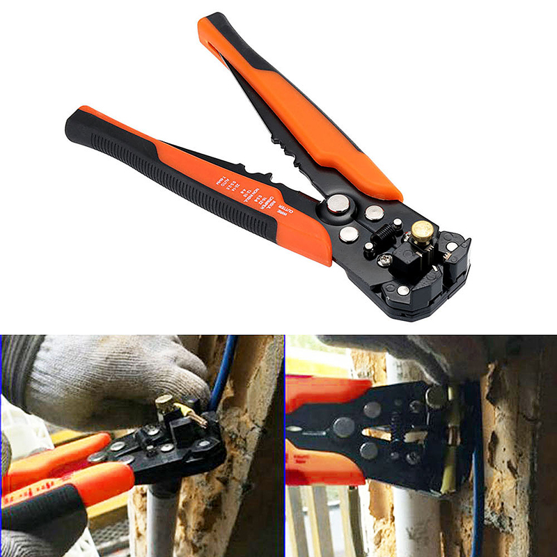 Automatic Self Adjustable Cable Wire Cutter Stripper Crimper Crimping Plier Tool