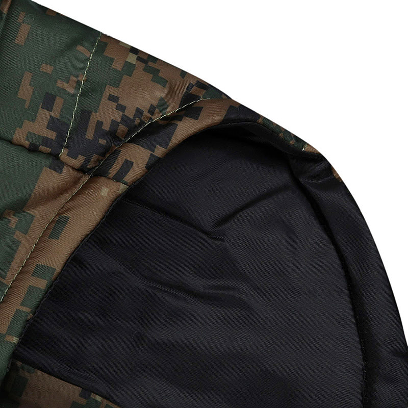 Pet Dog Puppy Warm Vest Jacket Soft Comfy Pet Winter Coat Costume Apparel Digital Camouflage - Size XL