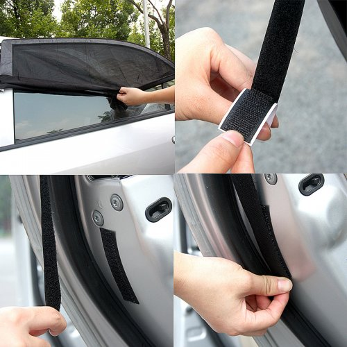 Anti-UV Car Side Window Sun Shade Visor Sun Block Cover 100*53.5cm