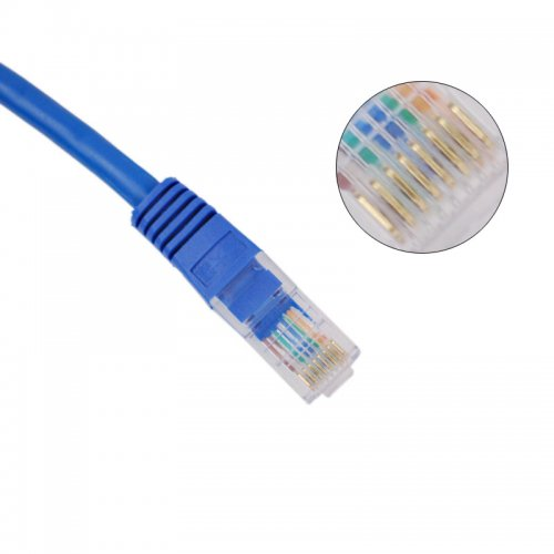 2M RJ45 High Speed Network Cable- Blue