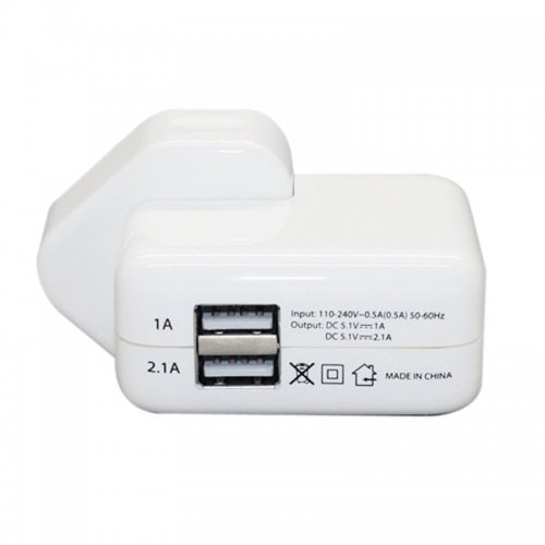 Two-port USB Charger LED Charging Display