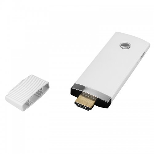 HD 1080P WiFi Display Dongle HDMI TV Wireless Airplay for Samsung iPhone - White