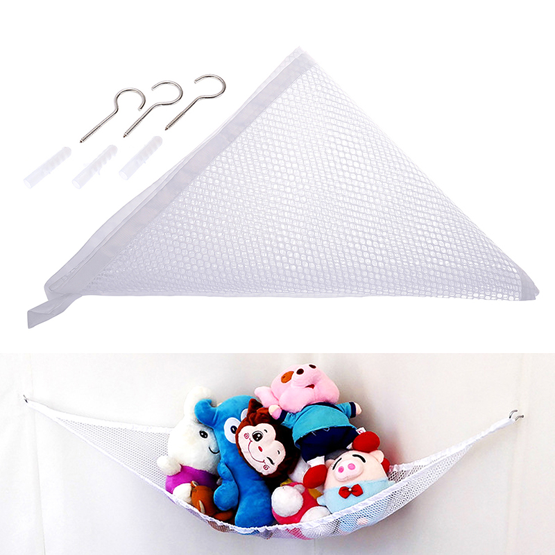 Large Toy Soft Teddy Hammock Mesh Baby Child Bedroom Tidy Storage Nursery Net