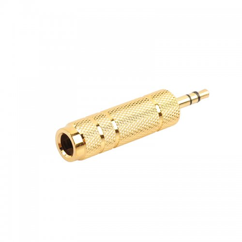 3.5mm Male to 6.5mm Female Adapter Stereo Headphone Microphone Audio Jack Converter Connector