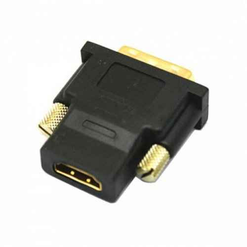 DVI-D Male to HDMI Female 24K Gold Plated Converter Adapter