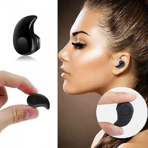 Mini Wireless Bluetooth 4.0 Earphone Stereo In-Ear Sports Headset Earpiece - Black