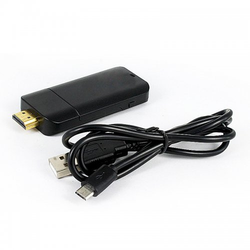 PTVdisplay DA02 Airplay WiFi Display Miracast TV Internet Dongle Adapter - Black
