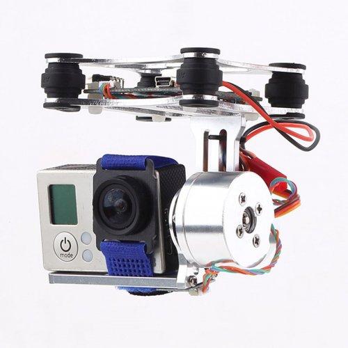 Silver New DJI Phantom GoPro Camera brushless motor Gimbal Combo (RTF)